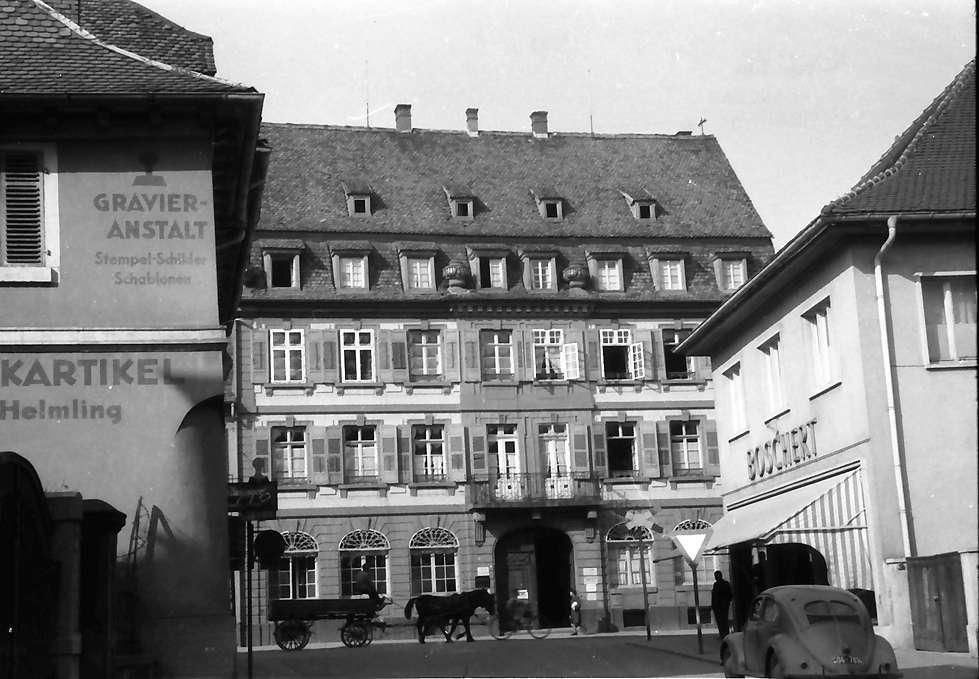 Lahr: Stoesser-Fischer Haus; Kaiserstraße; weiter weg, Bild 1