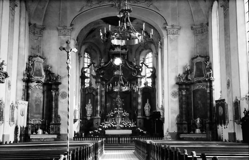 Ettenheim: Kirche; innen, Bild 1