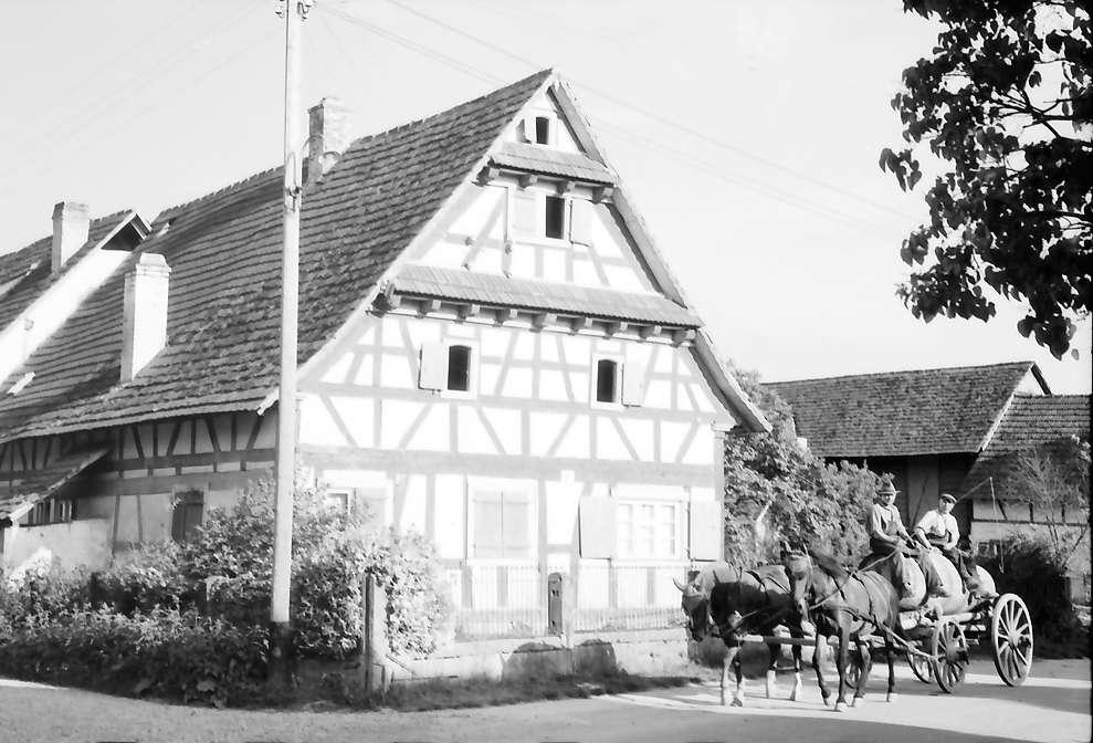 Wittenweier: Fachwerkhaus, Bild 1