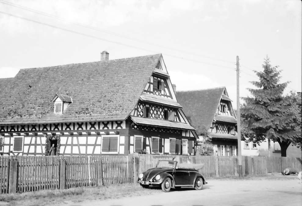 Wittenweier: Zwei Fachwerkhäuser, Bild 1