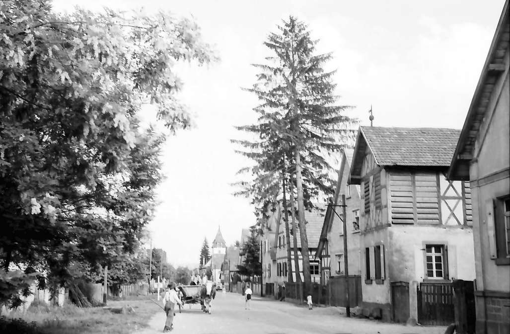 Wittenweier: Dorfstraße, Bild 1
