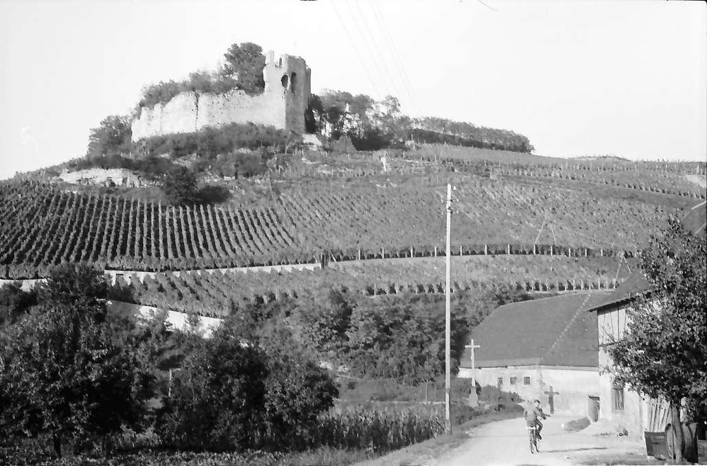 Hecklingen: Burg Lichteneck bei Hecklingen, Bild 1