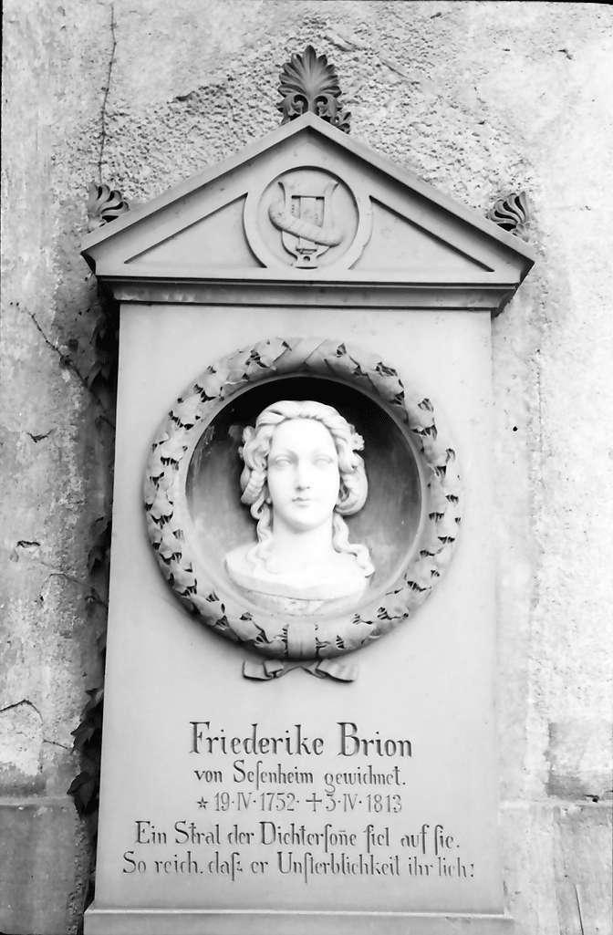 Meißenheim: Grab Friederike Brion, Bild 1