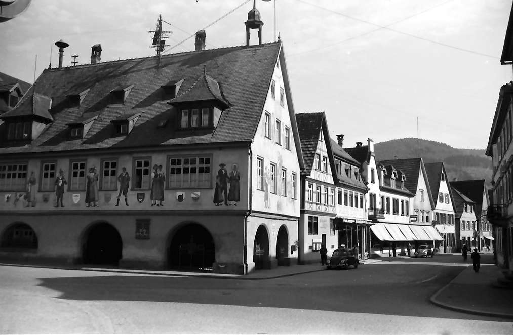 Haslach im Kinzigtal: Marktplatz, Bild 1