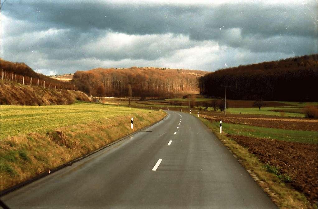 Malterdingen: Spätherbst im Tal nach Freiamt; bei Malterdingen, Bild 1