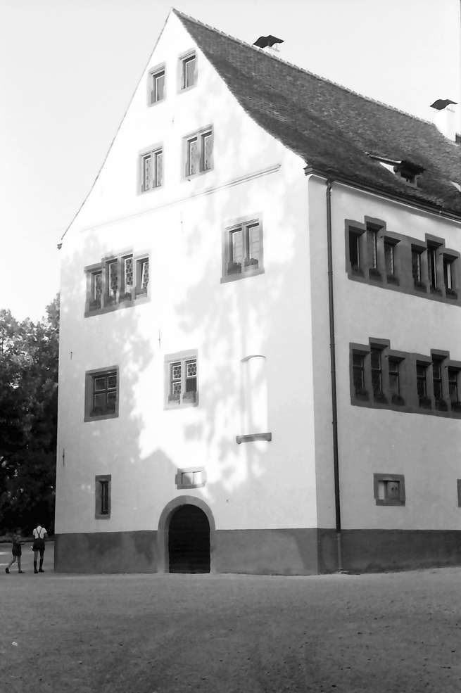 Emmendingen: Schloss; Giebelansicht von Westen, Bild 1