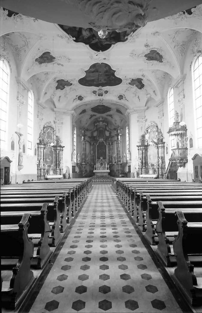 Herbolzheim: Gesamtansicht innen; Stadtkirche, Bild 1