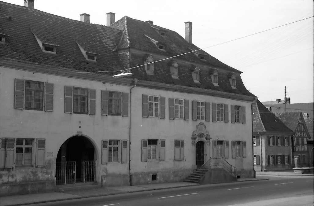Herbolzheim: Barockhaus (Bürgerhaus), Bild 1