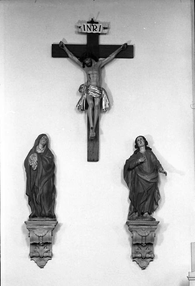 Herbolzheim: Wallfahrtskirche Maria Sand; Kreuzigungsgruppe, Bild 1
