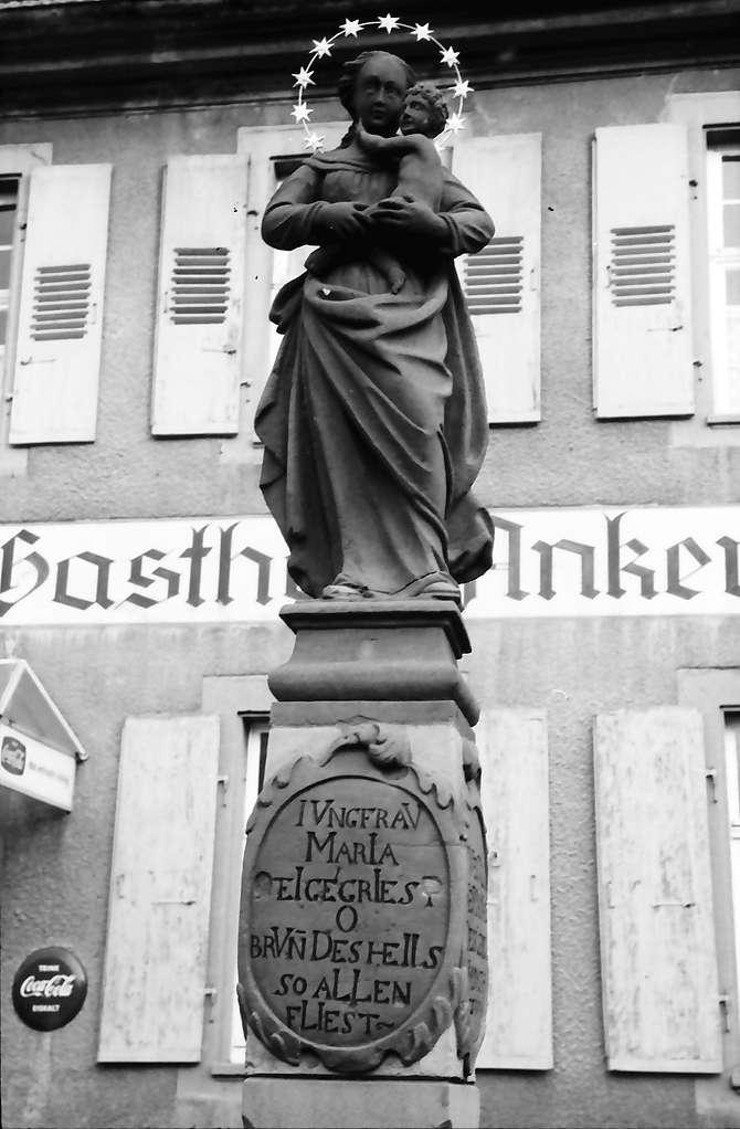 Kippenheim: Brunnenfigur, Bild 1