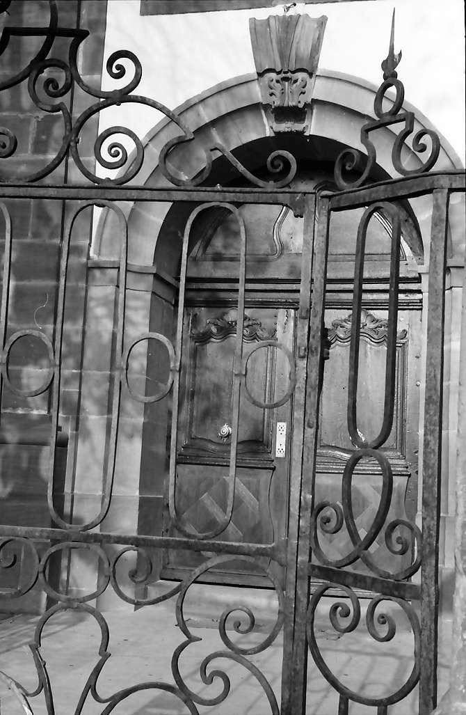 Meißenheim: Portal und Gittertor, Bild 1