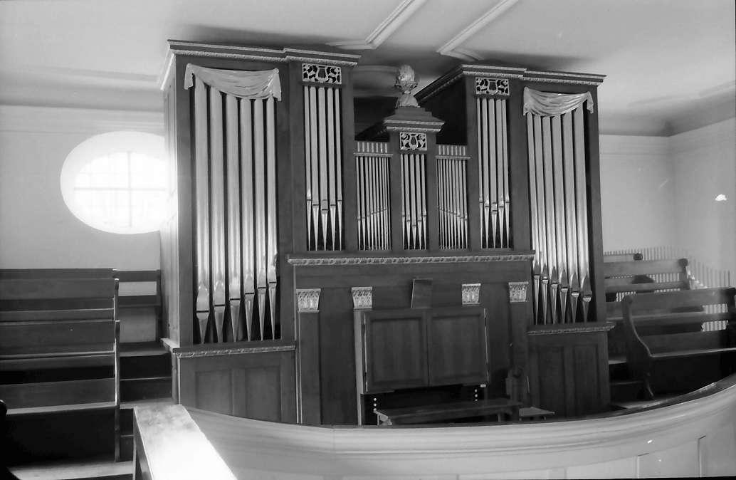 Freistett: Evangelische Kirche; Orgelprospekt, Bild 1