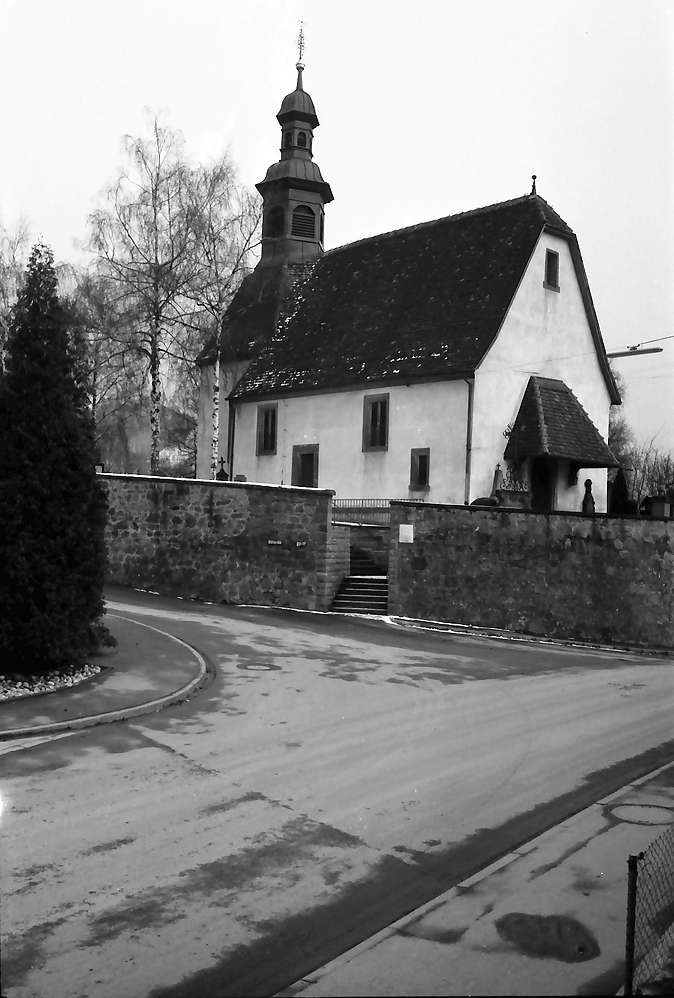 Ortenberg: Kirche Käfersberg; außen, Bild 1