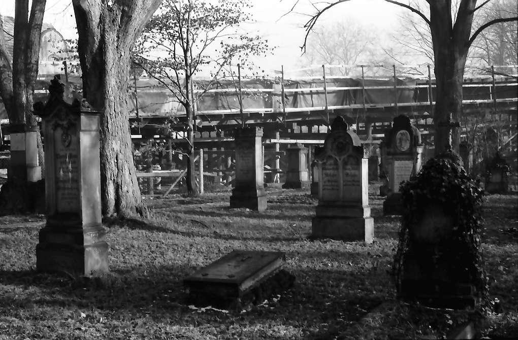 Emmendingen: Friedhof mit Auffahrtsrampe, Bild 1