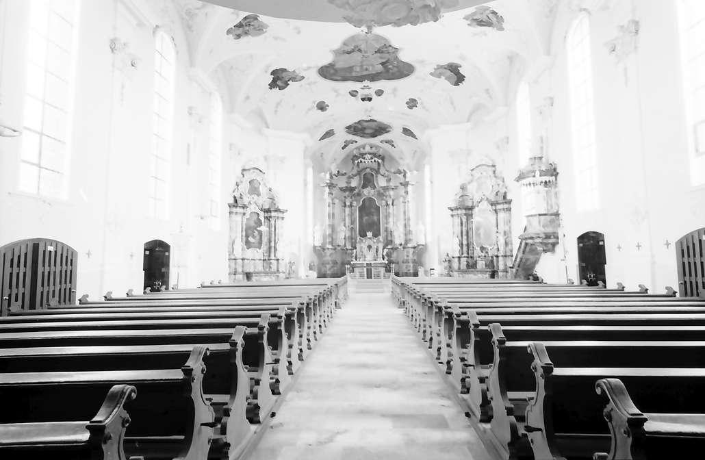 Herbolzheim: Renovierte Pfarrkirche; Innenraum; gesamt, Bild 1