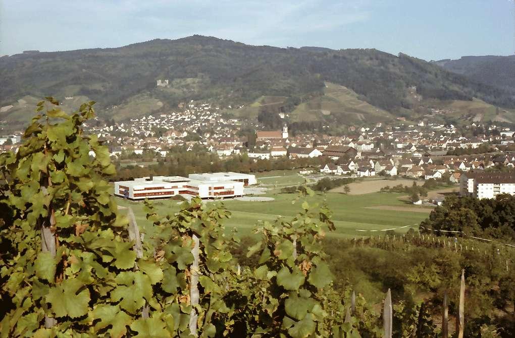 Oberkirch: Stadt von Butschbach: Hintergrund Schauenburg, Bild 1