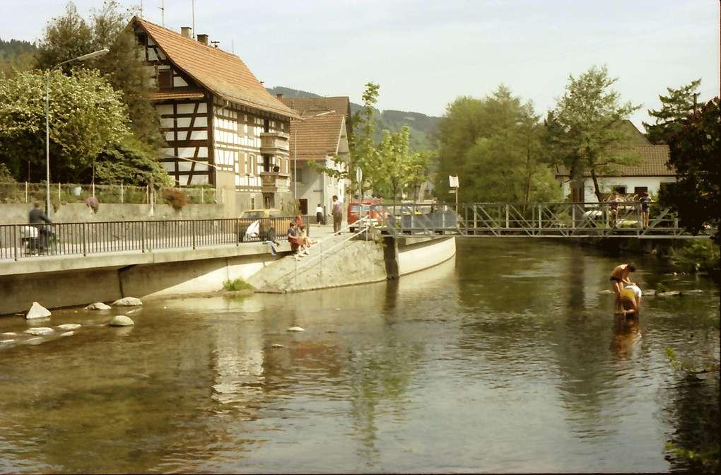 Kappelrodeck: Fachwerkhäuser in der Acher, Bild 1