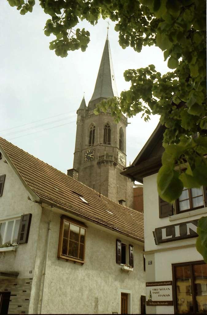 Kappelrodeck: Kirchturm, Bild 1