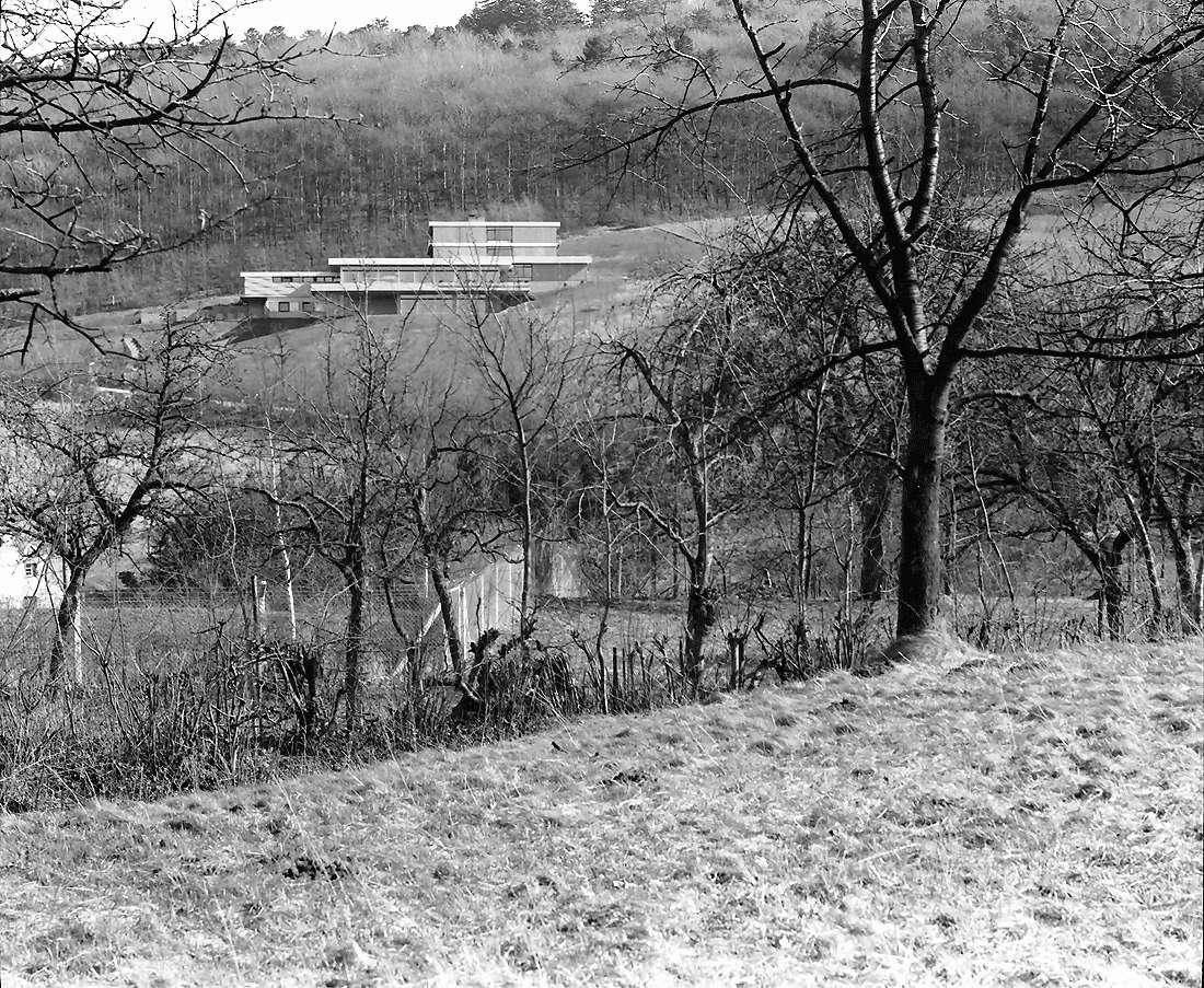 Staufen: Fernblick; Haus der Bundesversicherungsanstalt, Erholungsheim, Bild 1