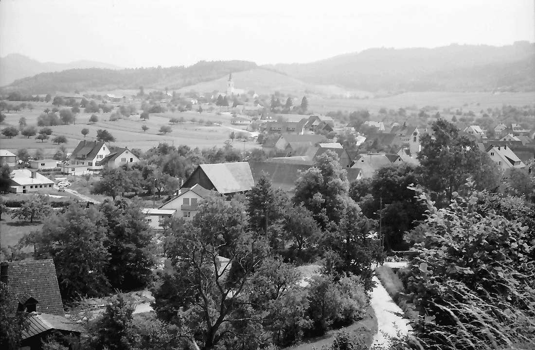 Dottingen: Gemeinden Dottingen-Ballrechten; von der Höhe Dottingen, Bild 1