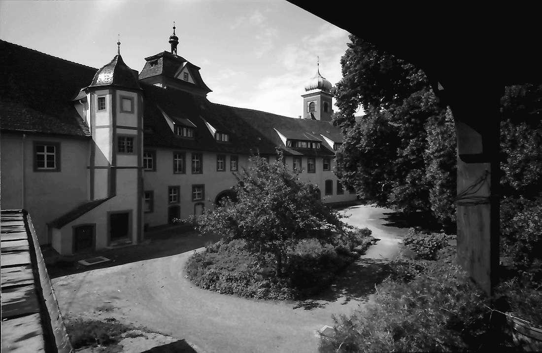 Heitersheim: Quergebäude Ritterhaus; Malteserschloss, Bild 2