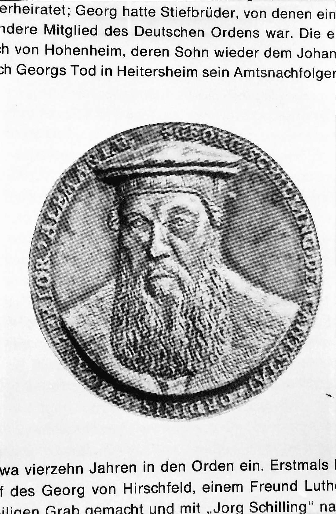 Heitersheim: Münze des Georg Schilling von Cannstatt, Bild 1