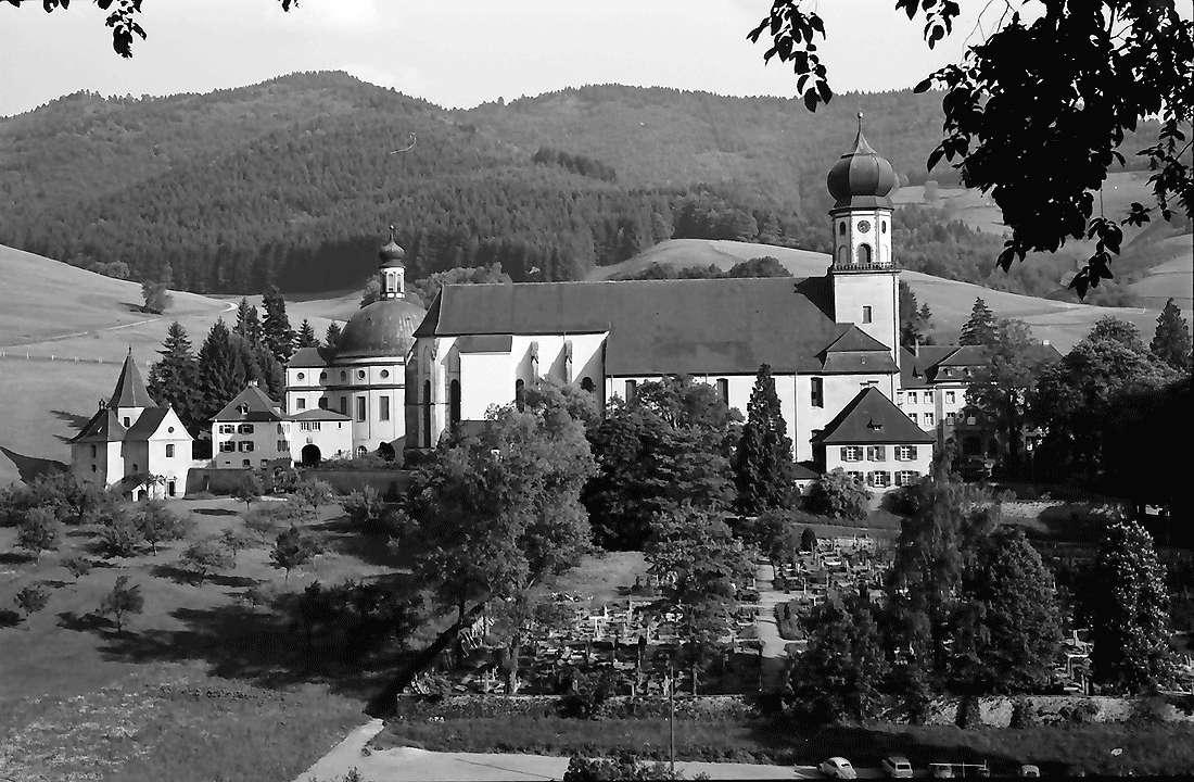 Münstertal: Kloster St. Trudpert; ganzer Komplex, Bild 2