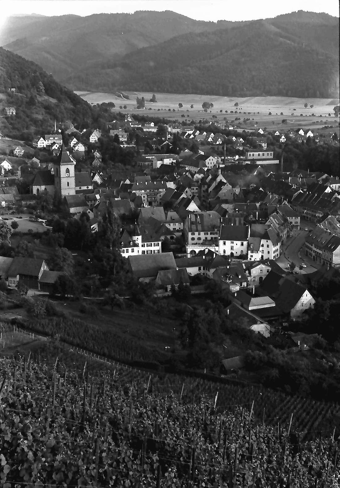 Staufen: Vom Schlossberg auf Staufen, Bild 1
