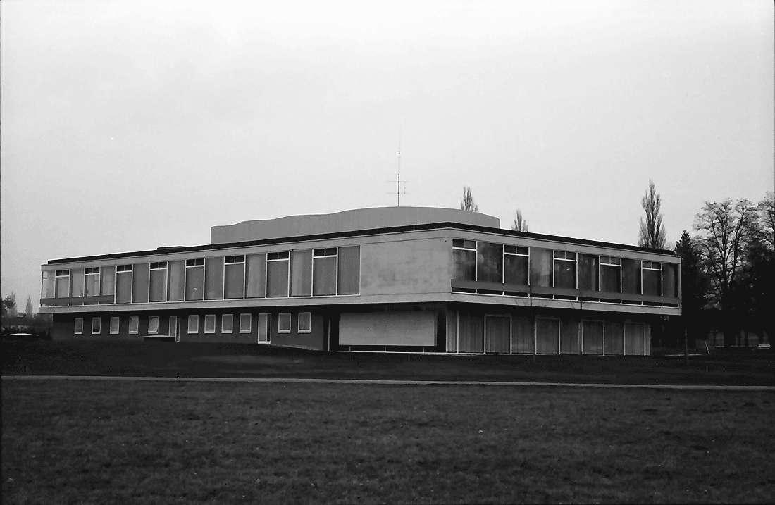 Bad Krozingen: Kurhaus; Außenansicht des Neuen Kurhauses; Rückseite; von Nordwest, Bild 2