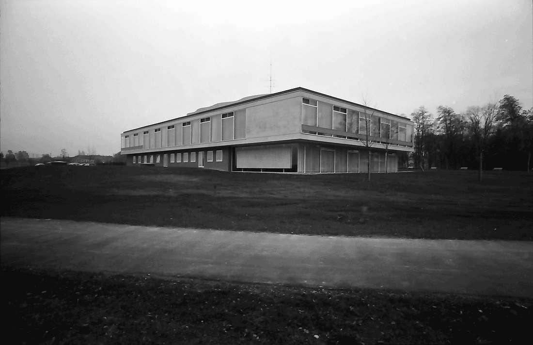 Bad Krozingen: Kurhaus; Außenansicht des Neuen Kurhauses; Rückseite; von Nordwest, Bild 1