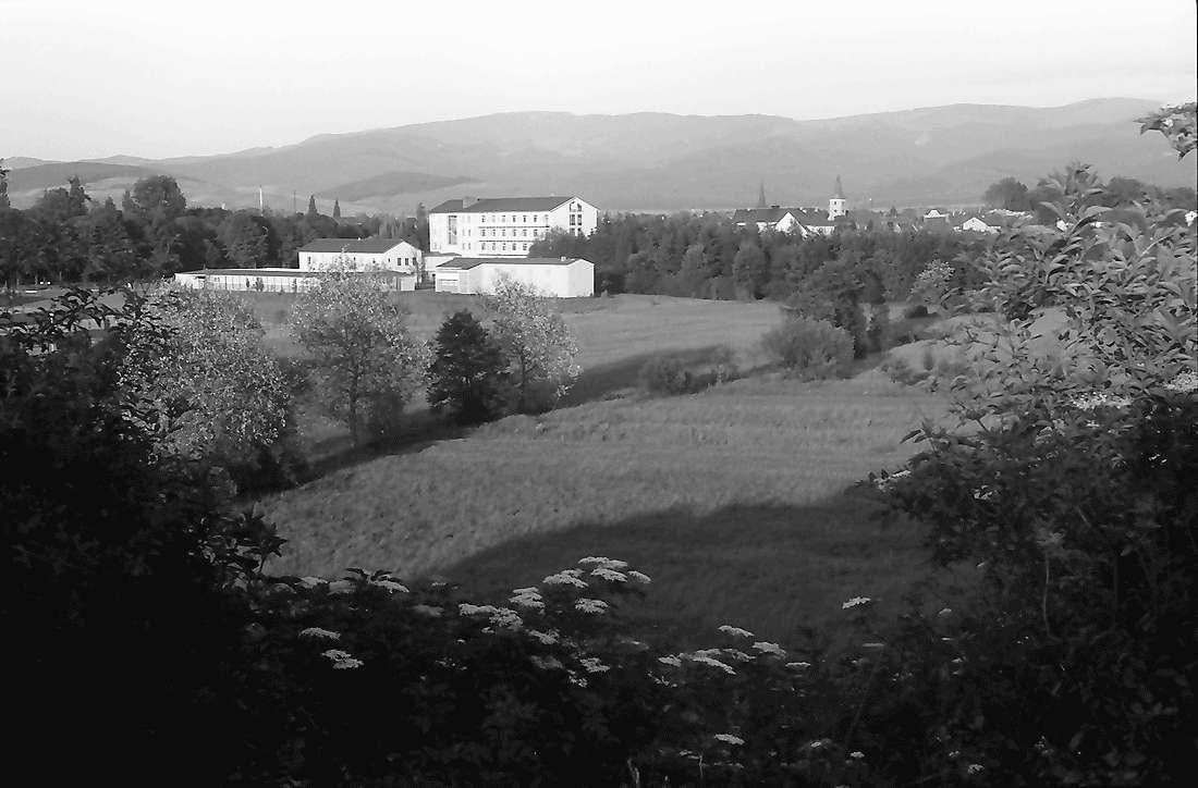 Bad Krozingen: Blick von der Höhe auf Kurhaus und Bad, Bild 2