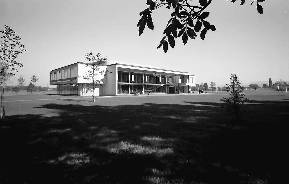 Bad Krozingen: Neues Kurhaus; Südansicht, Bild 2