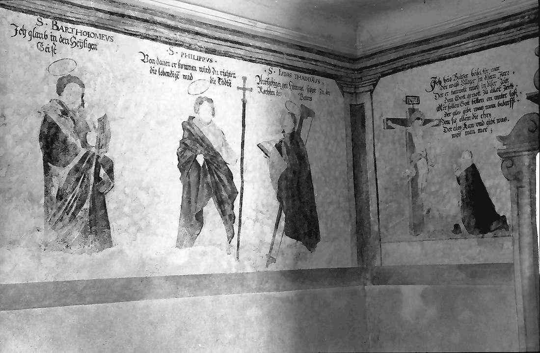 Staufen: Magdalenenkapelle; Fresken (innen), Bild 2
