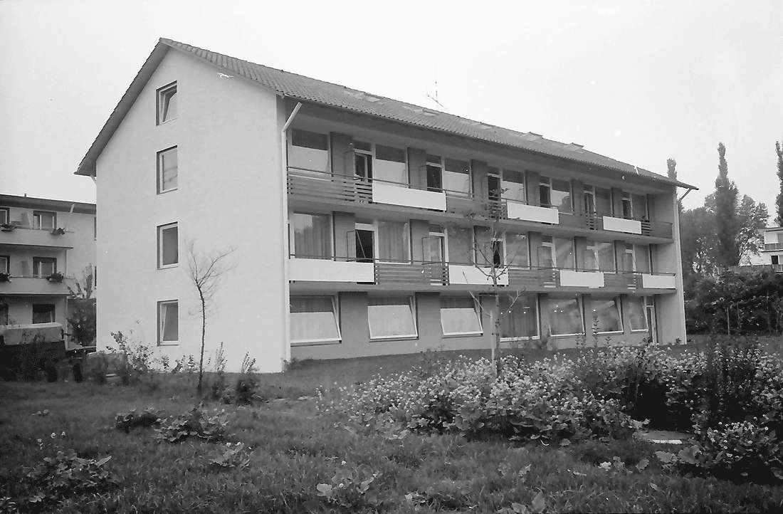 Bad Krozingen: Haus Weber; Balkonseite, Bild 1