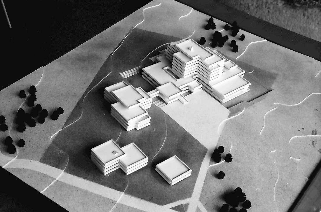 Bad Krozingen: Modell des Rehabilitationszentrums, Bild 2