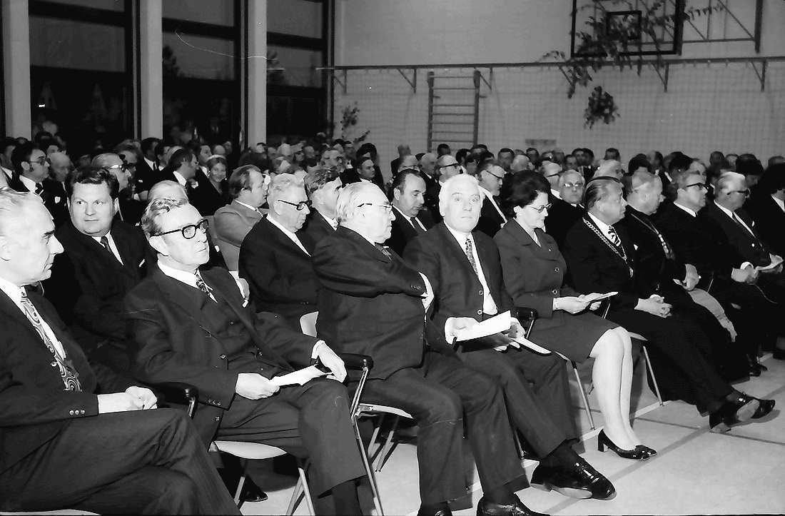 Bad Krozingen: Festakt; Sitzreihen, Bild 2