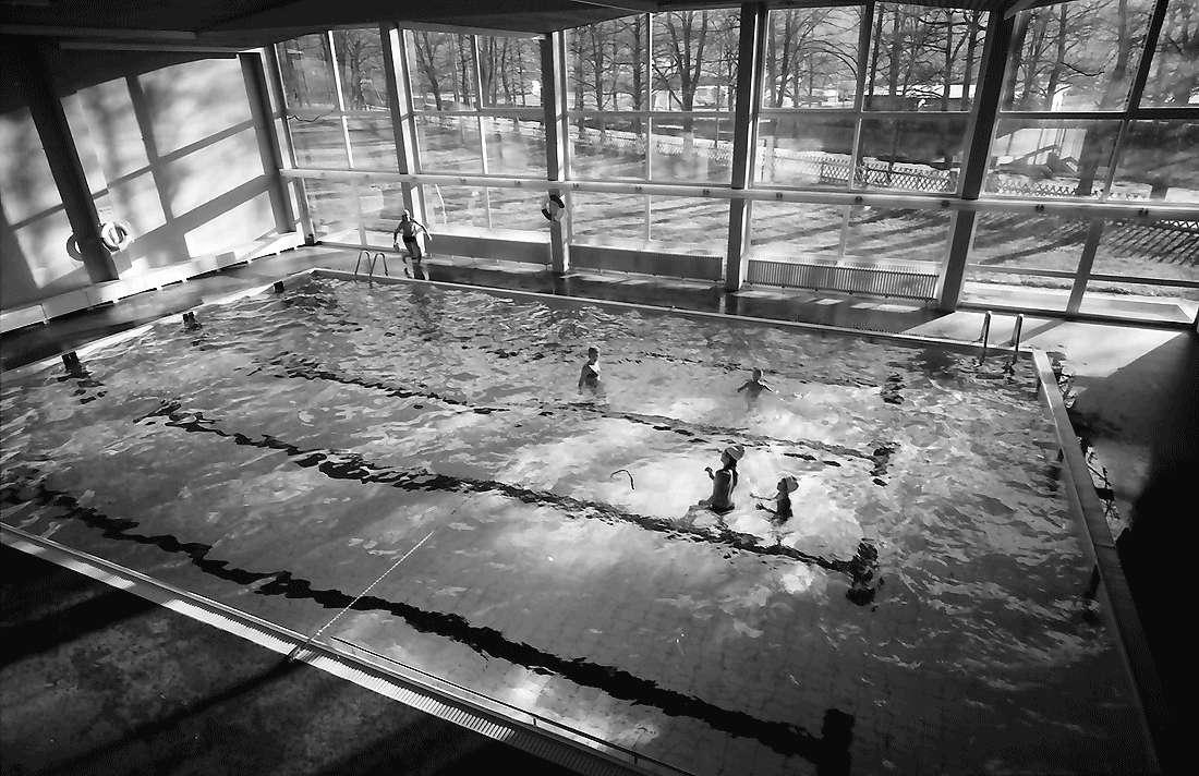 Staufen: Haus Münstertal; Hallenschwimmbad; von oben, Bild 2