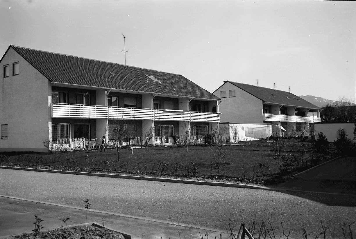 Denzlingen: Neue Heimat Baden-Württemberg; Wohnbauten; Markgrafenstraße, Bild 1