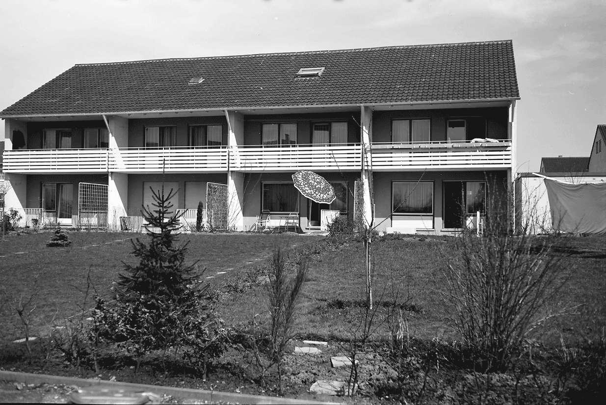 Denzlingen: Neue Heimat Baden-Württemberg; Wohnbauten; Markgrafenstraße; Einzelhaus davor, Bild 1