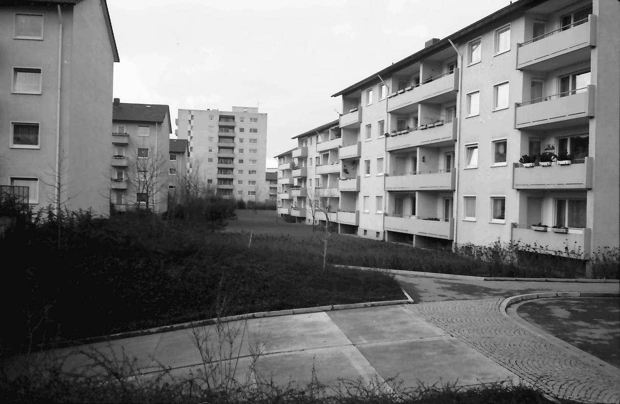 Freiburg; Haslach: Wohnstraße; Mathias-Blank-Siedlung; Julius-Brecht-Straße, Bild 1
