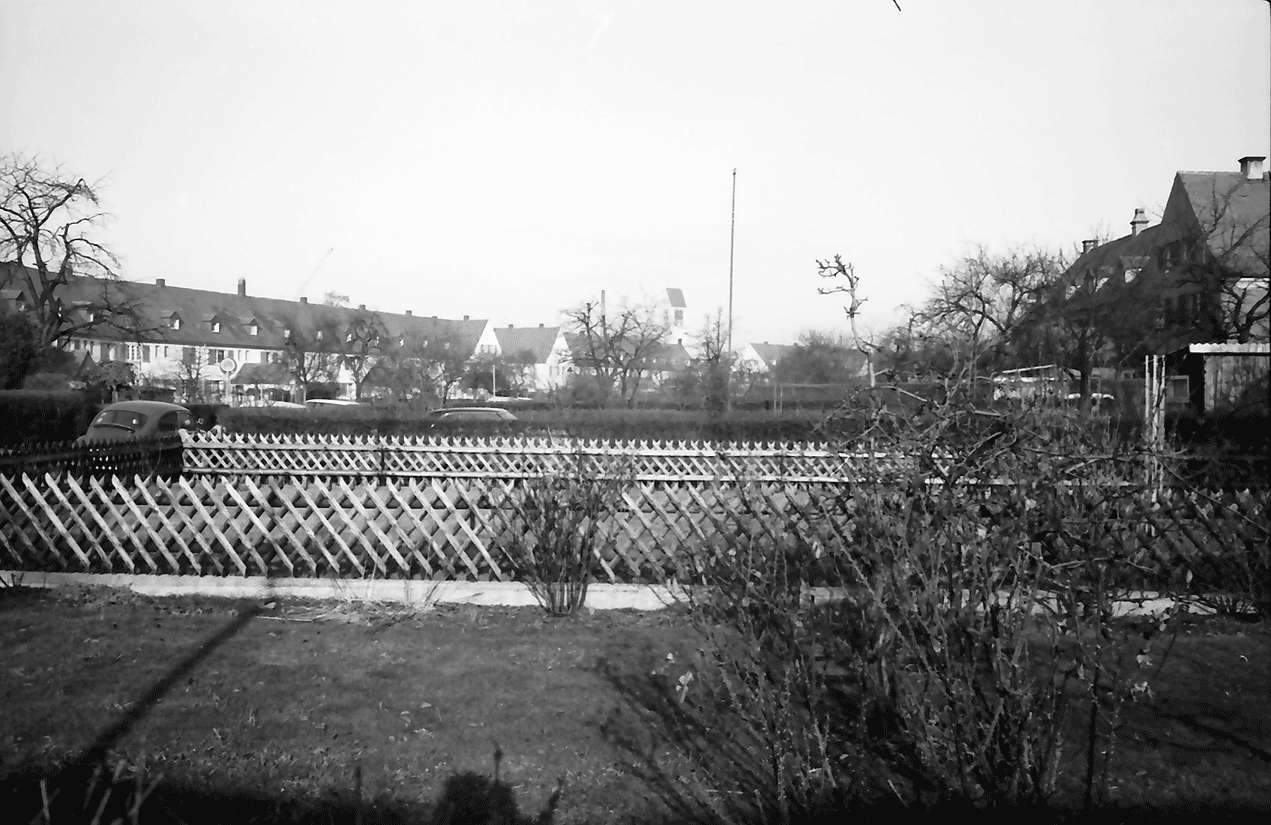 Freiburg; Haslach: Gartensiedlung Bauhoferstraße, Bild 1
