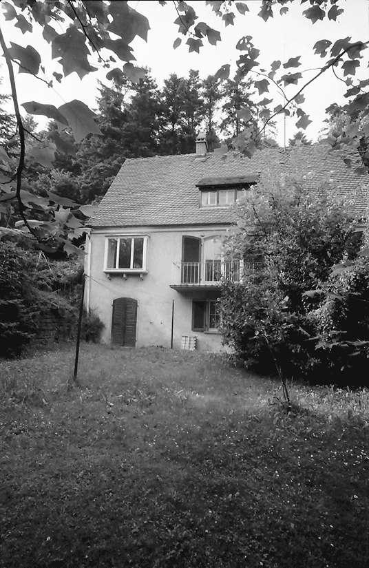 Freiburg; Günterstal: Villa Filbinger; Riedbergstraße 27, Bild 1
