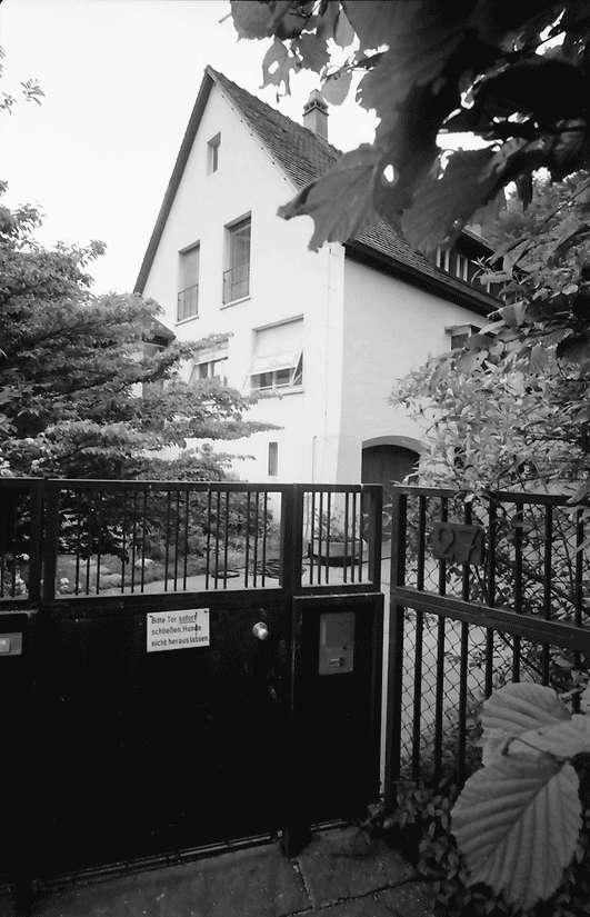 Freiburg; Günterstal: Villa Zachrich, Bild 1