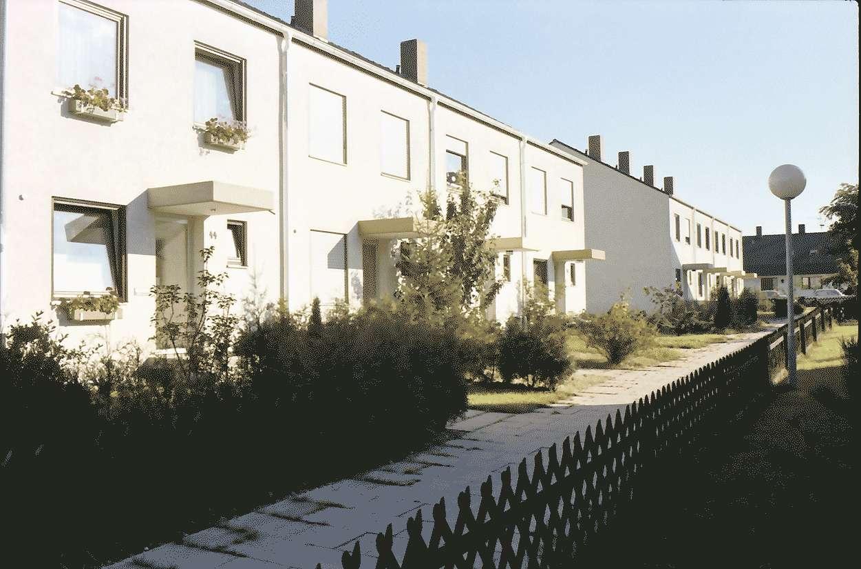 Mengen: Ruland & Kaffke GmbH und Co; Neubau; Einfamilienhäuser; Alemannenstraße; Rückfronten; Eingänge, Bild 1