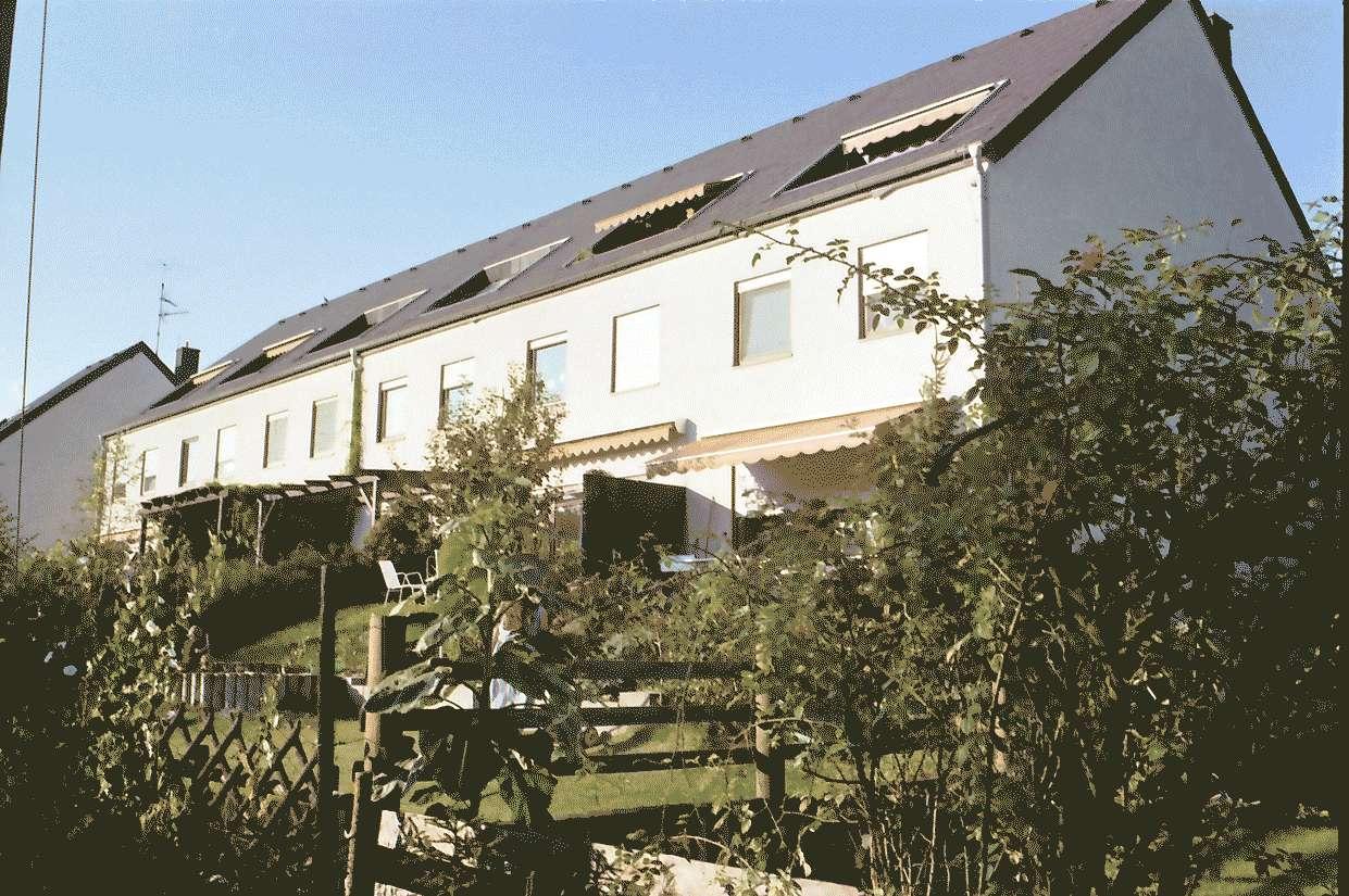 Mengen: Ruland & Kaffke GmbH und Co; Mehrfamilienblocks; Gartenseite, Bild 1