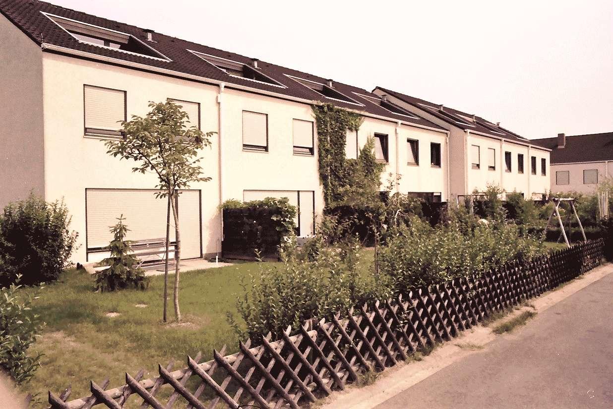 Mengen: Ruland & Kaffke GmbH und Co; Einfamilienreihenhäuser, Bild 1