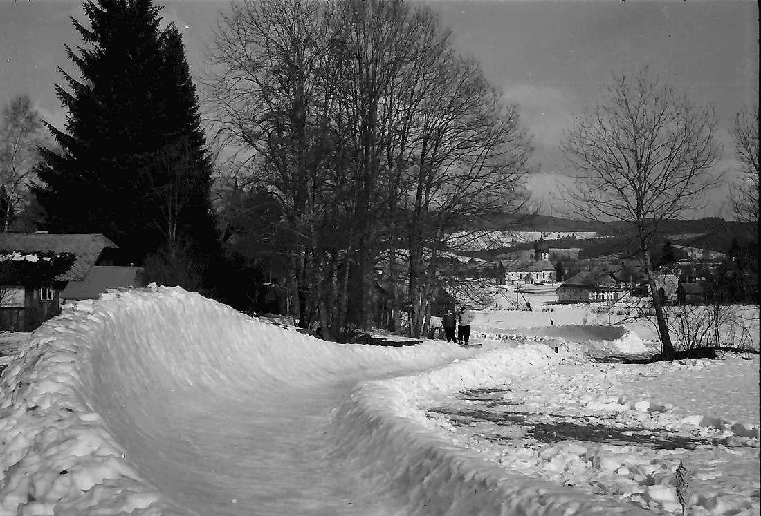 Hinterzarten: Bobbahn; letzte Kurve; von oben, Bild 2