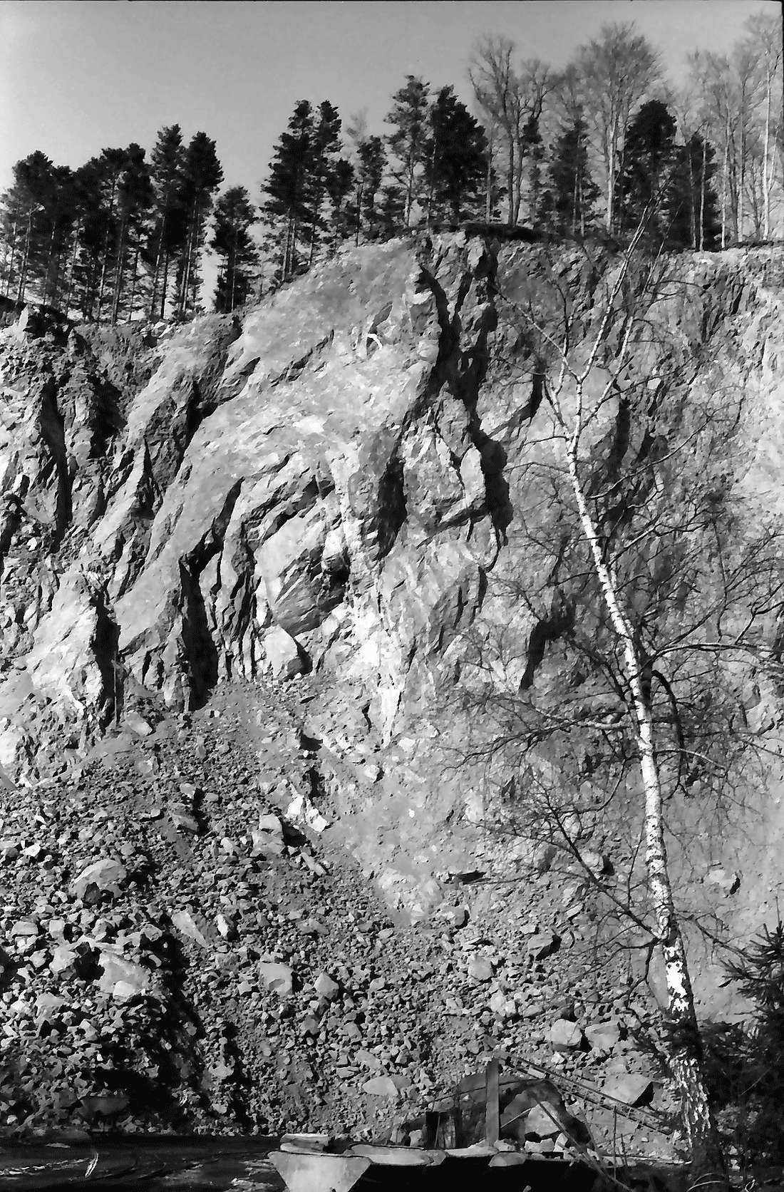 Wagensteig: Steinbruch; Griesdobel, Bild 2