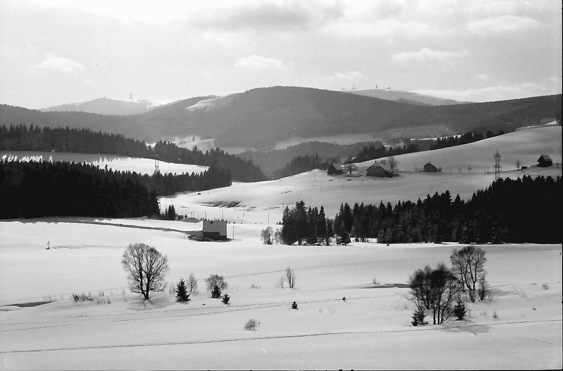 Breitnau: Breitnau mit Blick zum Feldberg, Bild 1