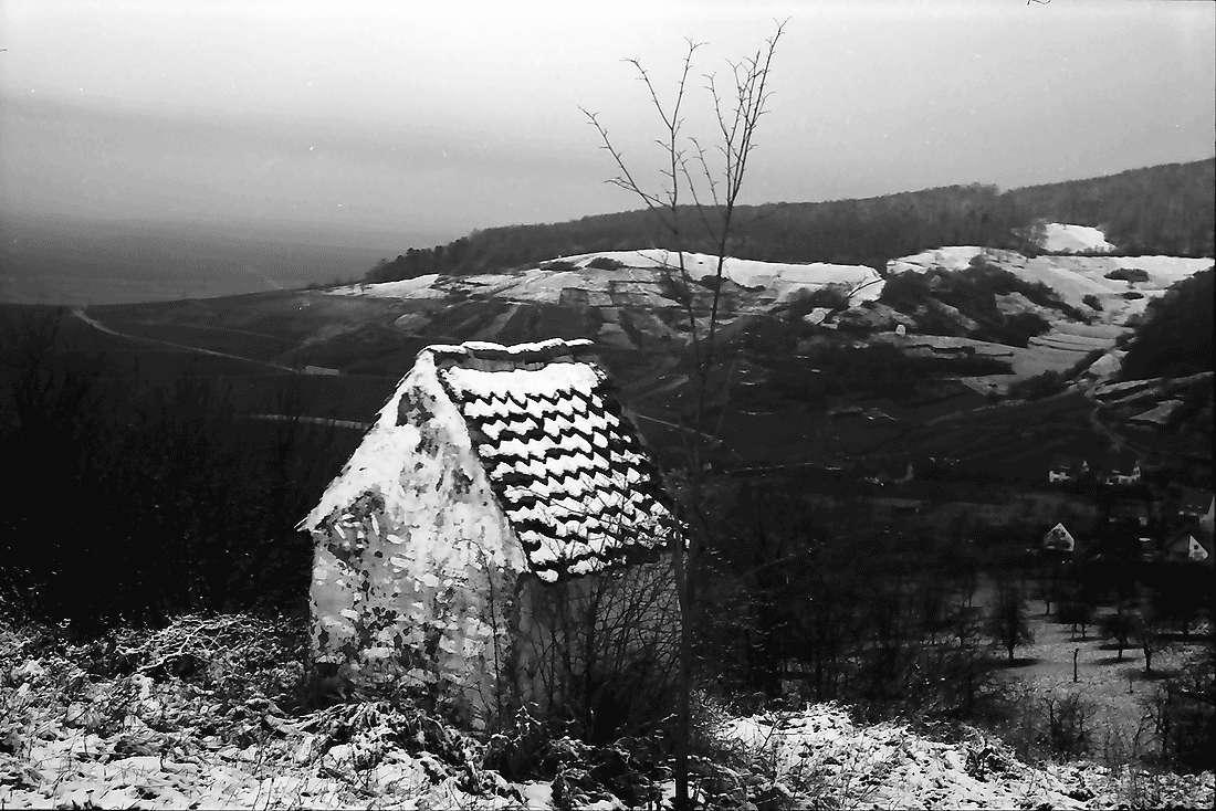 Ebringen: Stationskapelle im Schnee, Bild 1